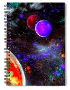 Intense Galaxy Spiral Notebook