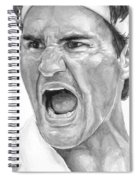 Intensity Federer Spiral Notebook