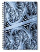 Interchange Cyanotype Spiral Notebook