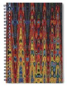 Interesting Abstract Spiral Notebook
