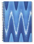 Interesting Cloud Abstract Spiral Notebook