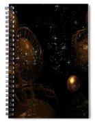 Interesting Developement Spiral Notebook