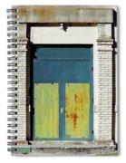 Interesting Door Spiral Notebook