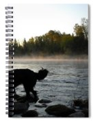 Interesting Mississippi River Dawn Spiral Notebook