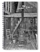 Interior Criterion Hall Saloon - Montana Territory Spiral Notebook