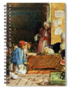 Interior Of A School - Cairo Spiral Notebook
