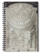 Interior Of Saint Pauls Cathedral Spiral Notebook