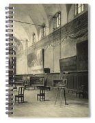 Interior Of The Dining Hall Of The Church Of Santa Maria Delle Grazie Milan Spiral Notebook