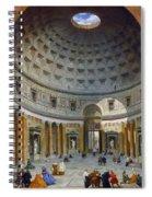 Interior Of The Pantheon Spiral Notebook