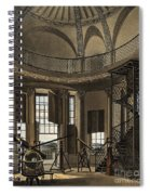 Interior Of The Radcliffe Observatory Spiral Notebook