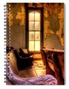 Interior Old Church Spiral Notebook