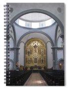 Interior San Juan Capistrano Spiral Notebook