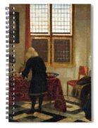 Interior Scene Spiral Notebook