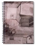 Interior Space Spiral Notebook