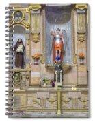 Interior View Of Church In Guanajuato Mexico Spiral Notebook