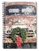 International Christmas Snow Spiral Notebook