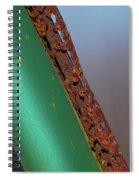 International Green Spiral Notebook