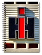 International Harvester Logo Spiral Notebook
