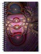 Internecine Spiral Notebook