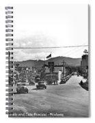 Intersection Of Alvarado And Calle Principal St.s, Monterey Circa 1940 Spiral Notebook