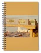 Interstate 44 West At Exit 287, Kingshighway Exit, 1980 Spiral Notebook