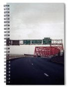 Interstate 74 East Approach Exit 94, Industrial Spur Exit, 1987 Spiral Notebook