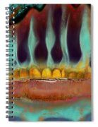 Interstice Spiral Notebook