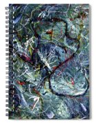 Intertwining Paths Spiral Notebook