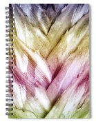 Interwoven Hues Spiral Notebook