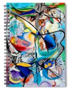 Intimate Glimpses - Journey Of Life Spiral Notebook