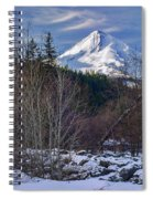 Intimate Hood Spiral Notebook