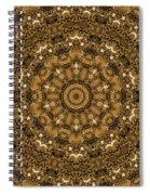Into A Golden Basket Spiral Notebook