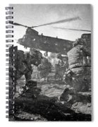 Into Battle - Charcoal Spiral Notebook