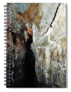 Into Crystal Cave Spiral Notebook