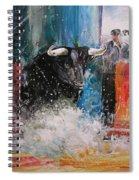 Into The Arena Spiral Notebook