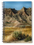 Into The Badlands South Dakota Spiral Notebook
