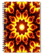 Into The Fire Spiral Notebook