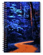 Into The Forest Of Night Spiral Notebook