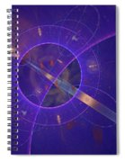 Into The Future Spiral Notebook