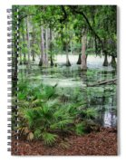 Into The Green Swamp Spiral Notebook