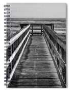 Into The Marsh  Spiral Notebook