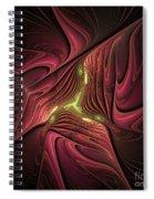 Into The Matrix Spiral Notebook
