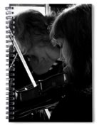 Into The Music Spiral Notebook