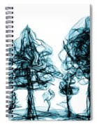 Into The Mysterious Forest Of Imagination Spiral Notebook
