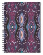 Into The Purple Spiral Notebook