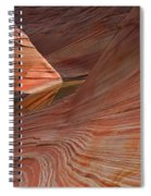 Into The Wave Spiral Notebook