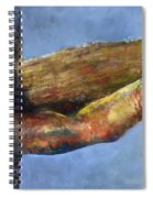 Into Your Hands Spiral Notebook