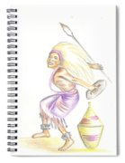 Intore Dance 2 From Rwanda Spiral Notebook