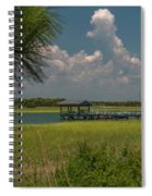 Intracoastal Water In Sullivan's Island South Carolina Spiral Notebook