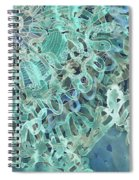 Intuition Unraveled Deep Ocean Spiral Notebook